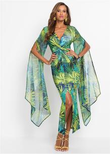 Платье с разрезом bonprix 267134387