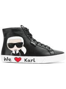 высокие кеды Karl Lagerfeld 1311822552