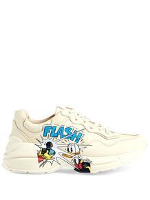 кроссовки Rhyton из коллаборации с Disney Gucci 161141285156