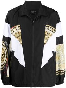 легкая куртка с принтом Baroque Versace 166802935256