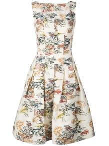 платье с цветочным принтом Oscar de la Renta 1433389254