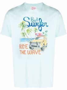 футболка с принтом Rich Surfer MC2 SAINT BARTH 16715477888876