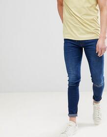 Рваные супероблегающие джинсы -Синий Ringspun 7151638
