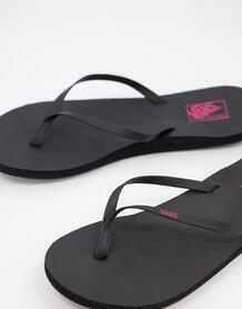 Черные шлепанцы Malta-Черный VANS 11583727