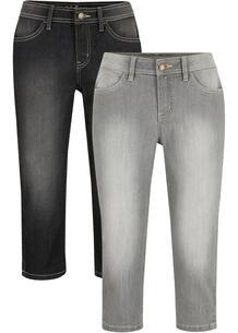 Капри джинсовые (2 шт.) bonprix 267201043