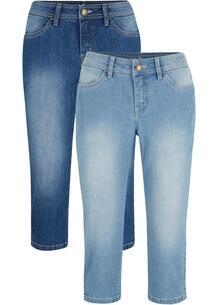 Капри джинсовые (2 шт.) bonprix 267201056