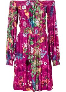 Платье с открытыми плечами bonprix 267181172