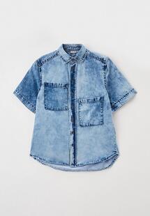 Рубашка джинсовая Gulliver GU015EBMFPG5CM134