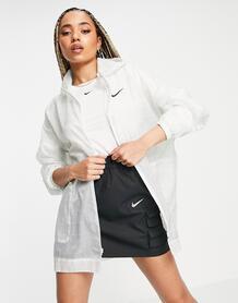 Белая куртка с логотипом из прозрачной ткани -Белый Nike 11954176