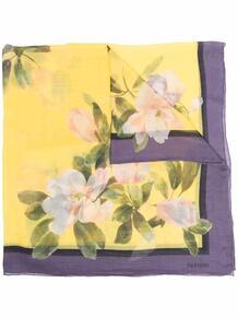 платок с цветочным принтом Valentino 16711154636363633263