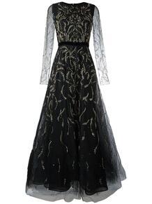 платье из тюля с вышивкой Oscar de la Renta 1169232852