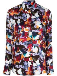 рубашка Marble Floral на пуговицах PS Paul Smith 163268285156