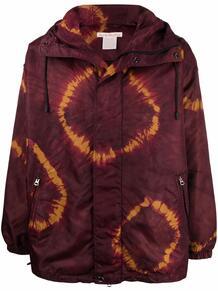 куртка с капюшоном и графичным принтом ACNE STUDIOS 1664818176