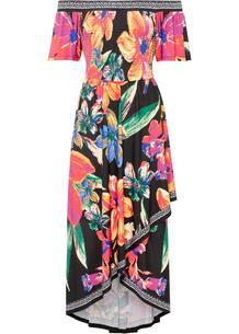 Платье с открытыми плечами bonprix 267298805