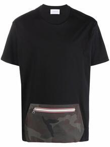 футболка с накладным карманом LOW BRAND 1678978852
