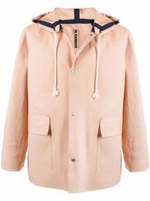 пальто на кнопках с капюшоном JilSander 1678270076
