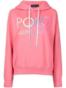 худи с кулиской и логотипом Polo Ralph Lauren 1643167476