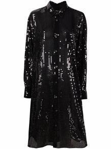 платье-рубашка с пайетками Junya Watanabe 1675492583
