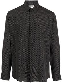 рубашка Yves в горох Yves Saint Laurent 160361465248