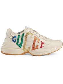 кроссовки Rhyton с логотипом Gucci 129646265249