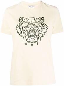 футболка с вышивкой Kenzo 167300338883