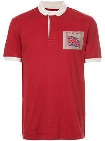 рубашка-поло с контрастной отделкой Kent & Curwen 126591328876