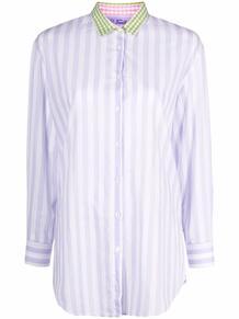 рубашка в полоску с логотипом MC2 SAINT BARTH 1668727577