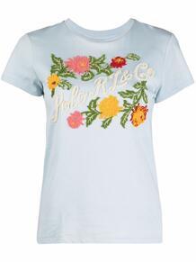 футболка с цветочной вышивкой Polo Ralph Lauren 1666561676