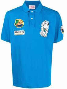рубашка поло в технике пэчворк MC2 SAINT BARTH 1670376876