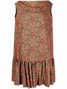платье-трапеция с оборками и принтом L'Autre Chose 164043215252