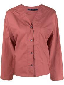 рубашка с V-образным вырезом и широкими рукавами SOFIE D'HOORE 166754035152