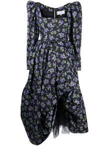 пышная юбка с цветочным принтом Natasha Zinko 160358325154