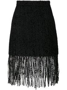юбка с бахромой MSGM 122967235248