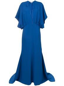 длинное платье с драпировками ESTEBAN CORTAZAR 136032185154