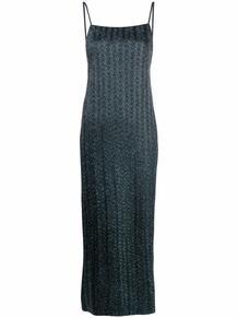 платье с разрезом сбоку Missoni 164007335156