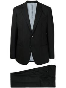 костюм в тонкую полоску Giorgio Armani 165883165348