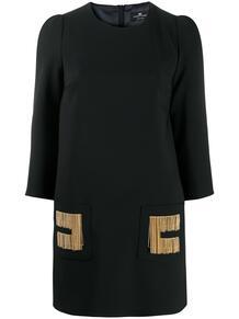 платье-трапеция с цепочкой Elisabetta Franchi 157130705156