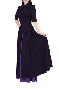 Платье комбинированное, отрезное по линии талии GREYCAT 7781560