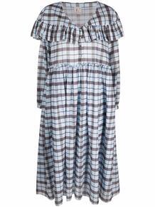 платье миди с оборками и узором в клетку тартан L'Autre Chose 164029855250