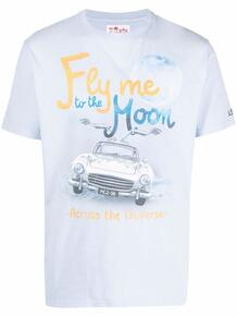 футболка с принтом MC2 SAINT BARTH 1675133176