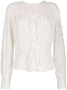 блузка с английской вышивкой IRO 166679205154