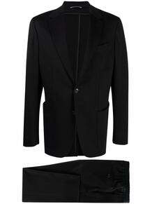костюм с однобортным пиджаком Canali 167810185350