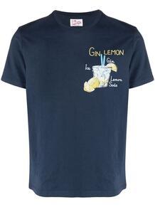футболка с графичным принтом MC2 SAINT BARTH 1670857283