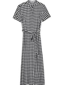 платье в ломаную клетку Equipment 162338988876