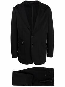костюм-двойка с однобортным пиджаком Canali 167799845350
