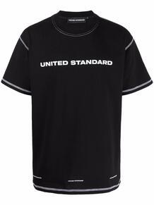 футболка с логотипом UNITED STANDARD 1671470983