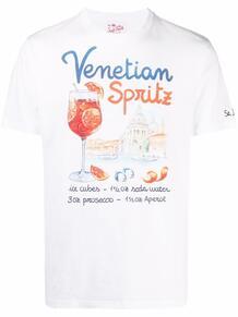 футболка Venetian Spritz с графичным принтом MC2 SAINT BARTH 1677861576