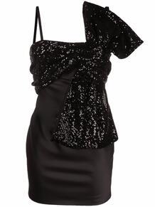 платье миди с бантом GIUSEPPE DI MORABITO 167979975250