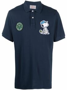 рубашка поло с вышивкой MC2 SAINT BARTH 1676224876