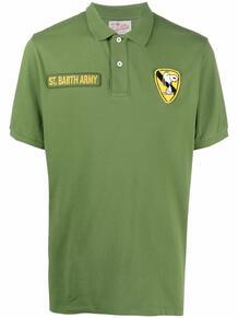 рубашка поло с вышивкой MC2 SAINT BARTH 1676191977